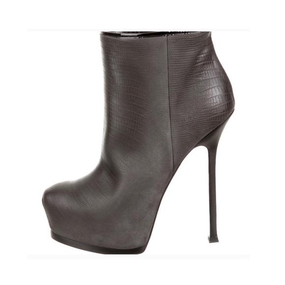 619bc62b YSL Yves Saint Laurent Tribtoo Ankle Booties
